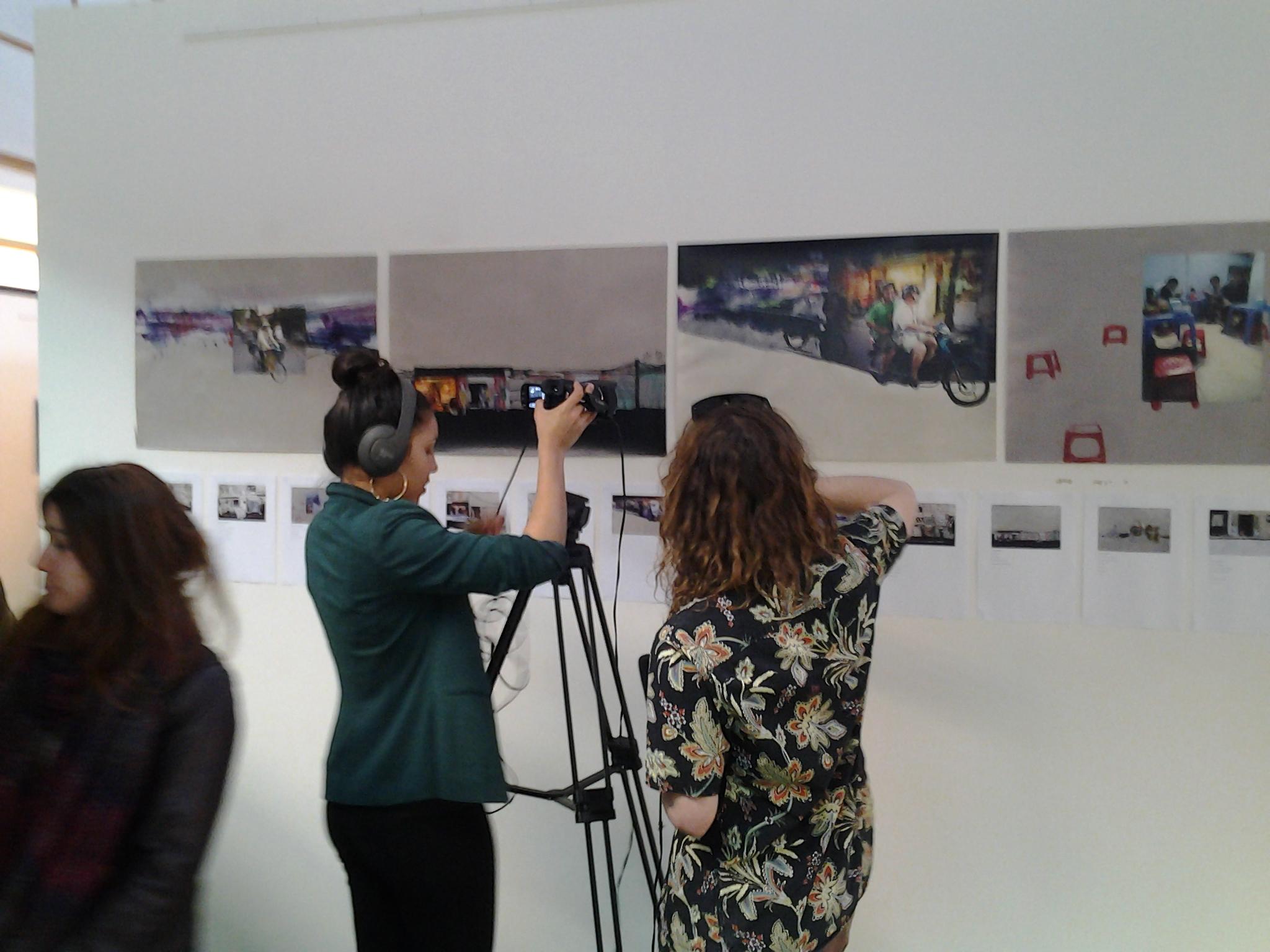 LES RPCM en reportage dans la Galerie ouverte - Les L de la nuit 2016
